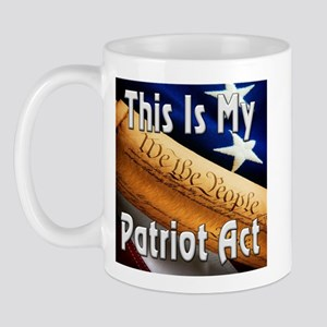 My Patriot Act Mug